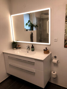 Badeværelses møblement